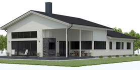modern farmhouses 001 house plan CH656.jpg