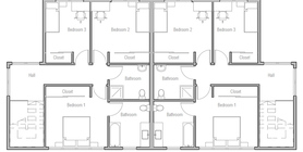 duplex house 12 home plan ch507d.jpg