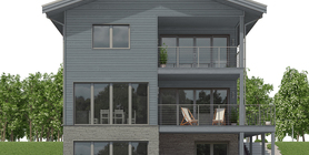 sloping lot house plans 03 home plan CH659.jpg