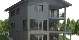sloping lot house plans 04 home plan CH659.jpg
