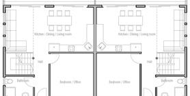 duplex house 11 house plan ch513.jpg