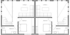 duplex house 12 house plan ch513.jpg
