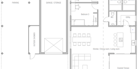 coastal house plans 20 house plan ch540.png