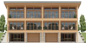 Duplex House Plan CH502D