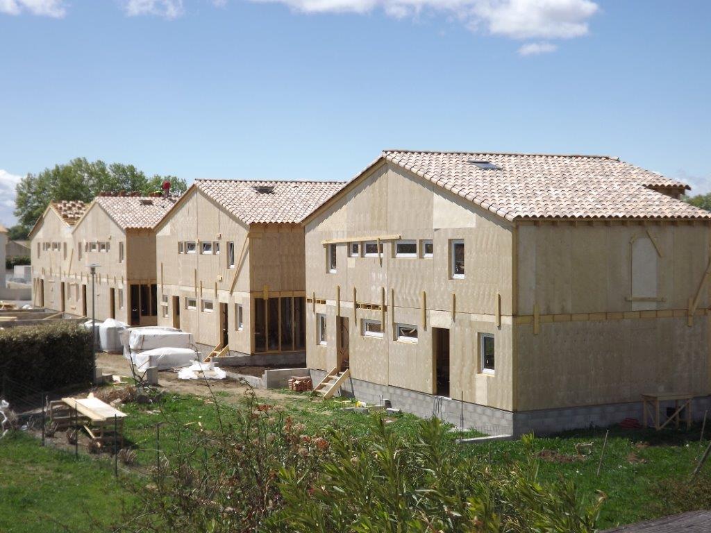 Duplex house plan ch135 house plans house designs for Duplex cottage plans
