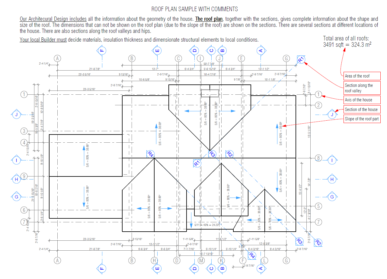 How it works house plans house designs for Free cupola blueprints