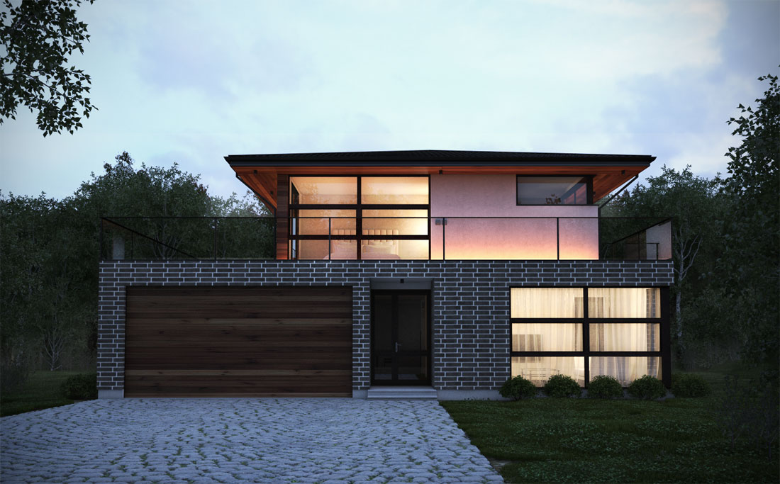 Inside outside modern house plans from top architects for House pln