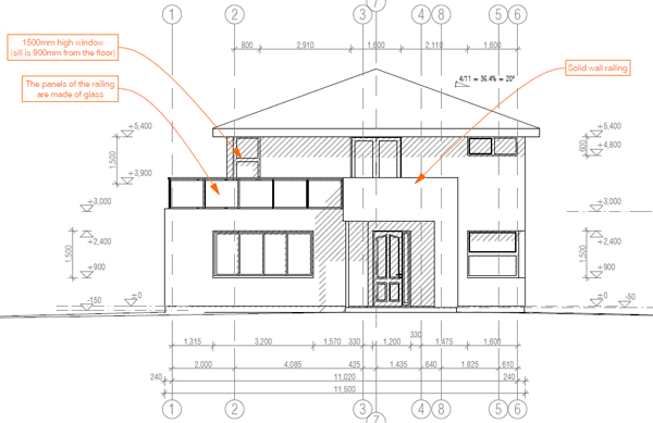 how to draft a house plan