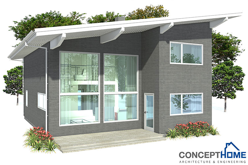 Contemporary Home Design Ch9 Floor Plans And Images From