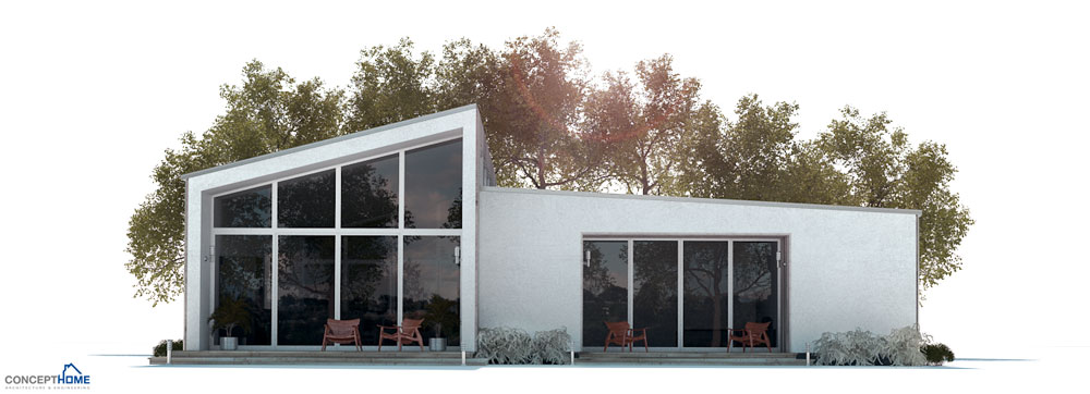 Small House Plan Three Bedrooms Modern Floor Plan House Plan