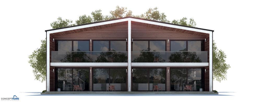 Duplex House Plan Ch284